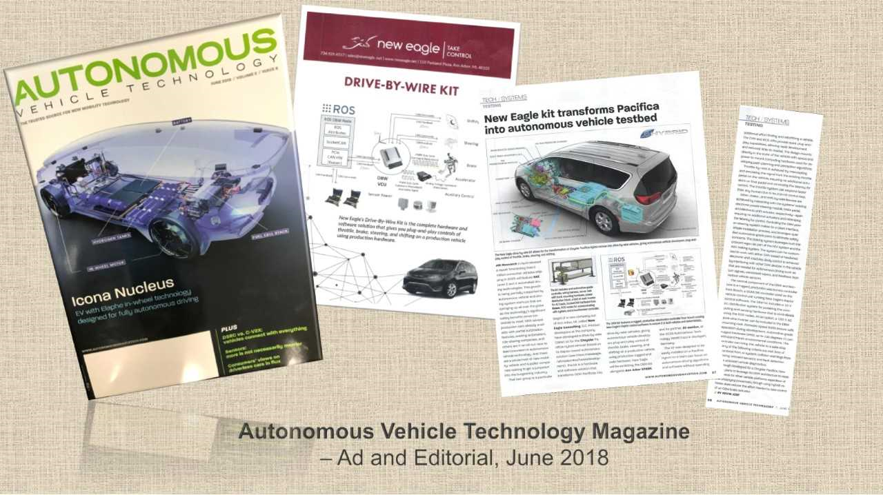 Autonomous Vehicle Technology World Expo - Recap