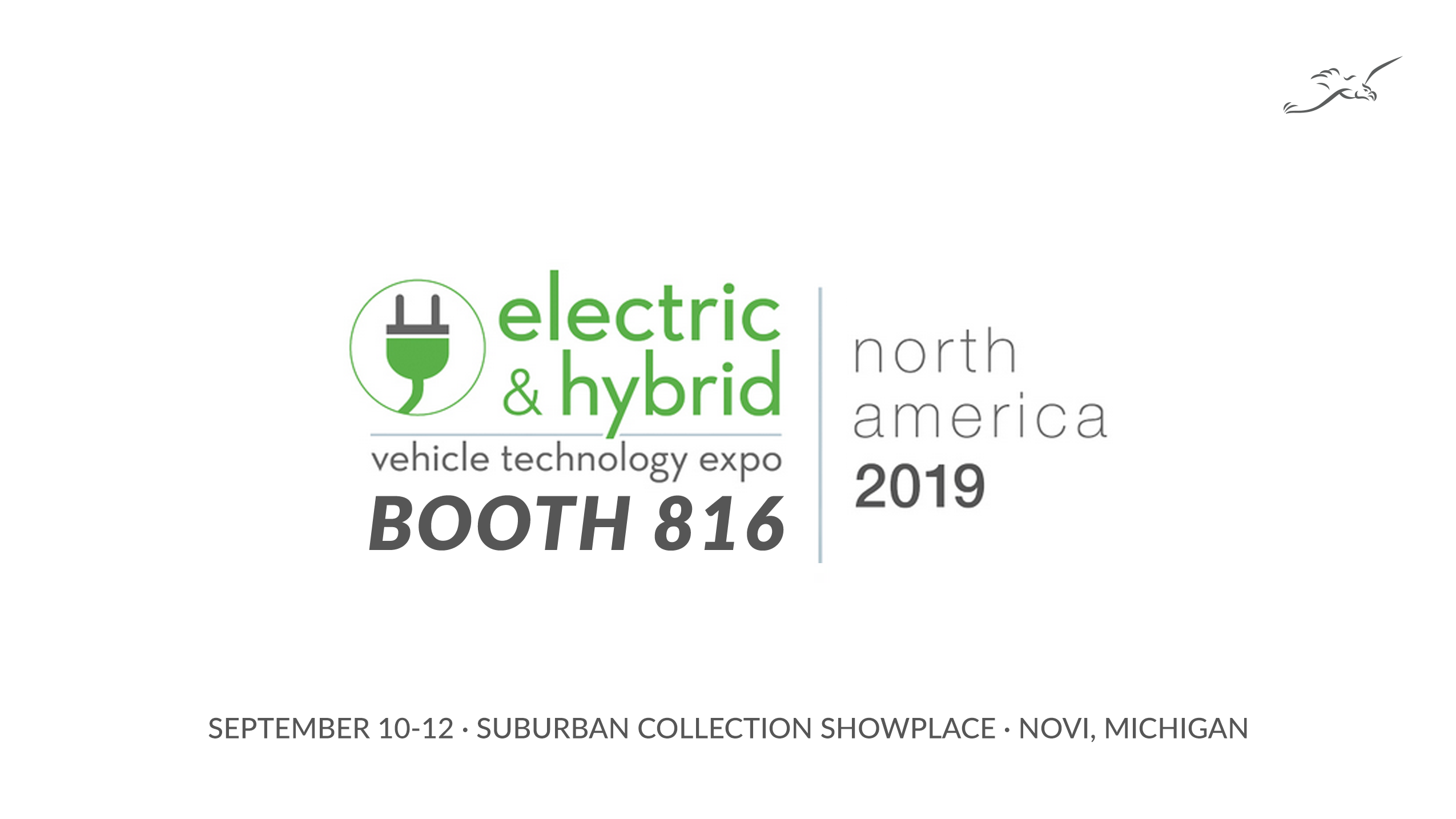 Join New Eagle at the 2019 Electric & Hybrid Vehicle