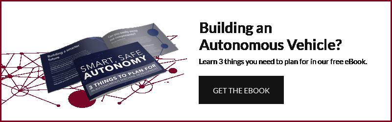 New Eagle Autonomous vehicle development guide