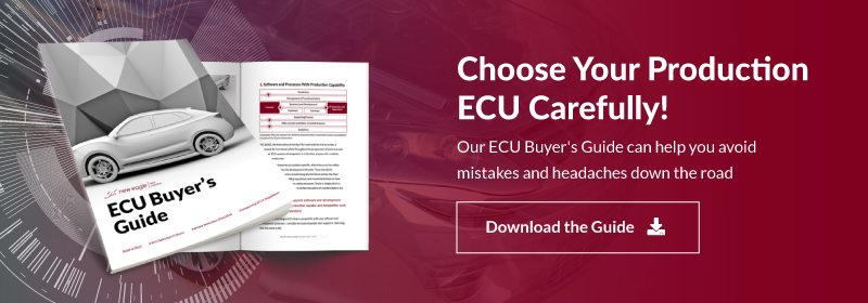 Choose Your Production ECU Carefully