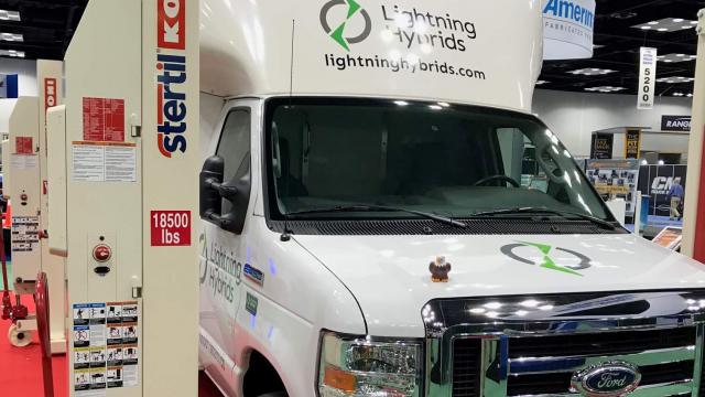 Work Truck Show Electric Truck