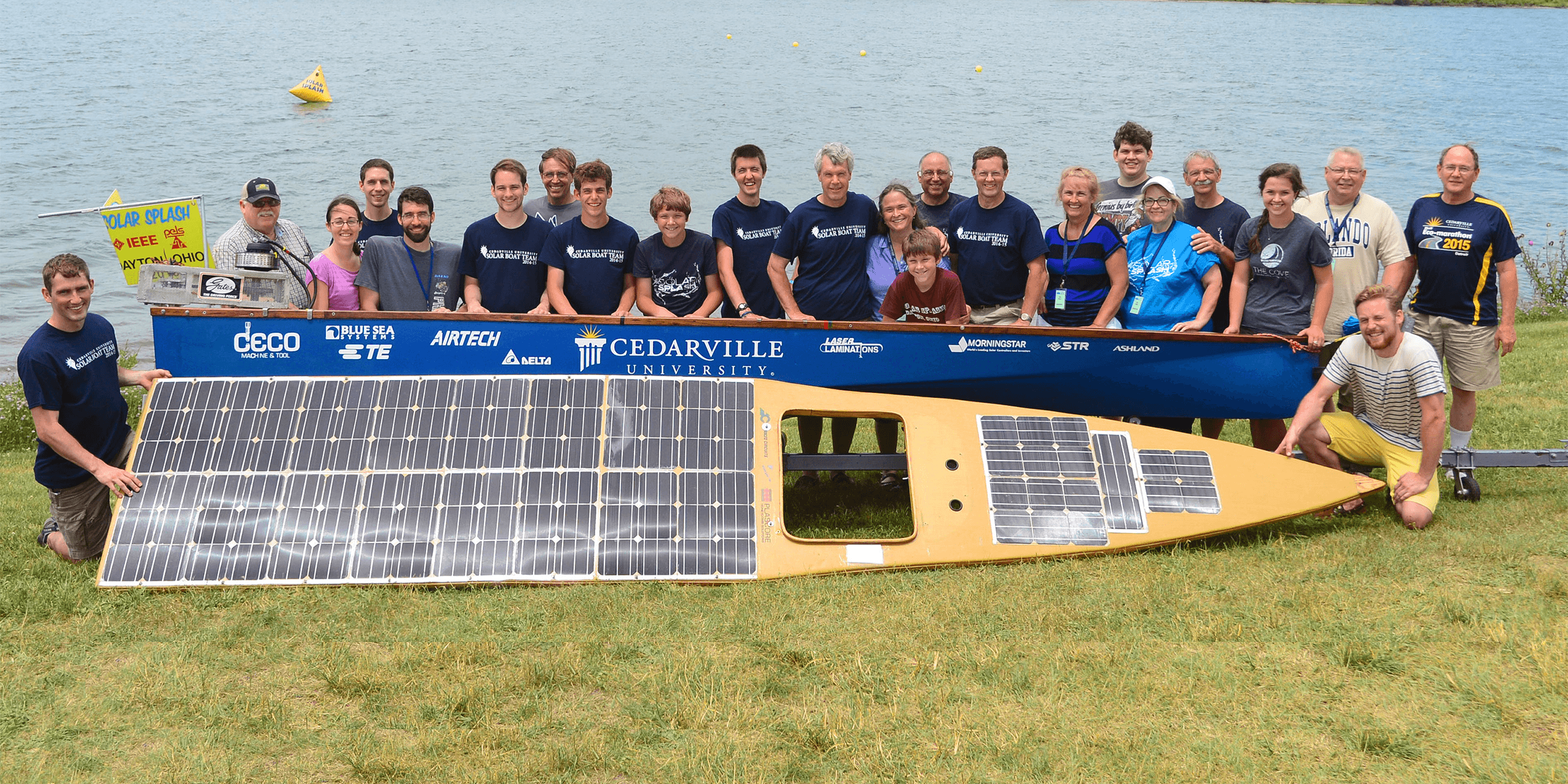 new eagle is a proud sponsor of the cedarville university solar boat team