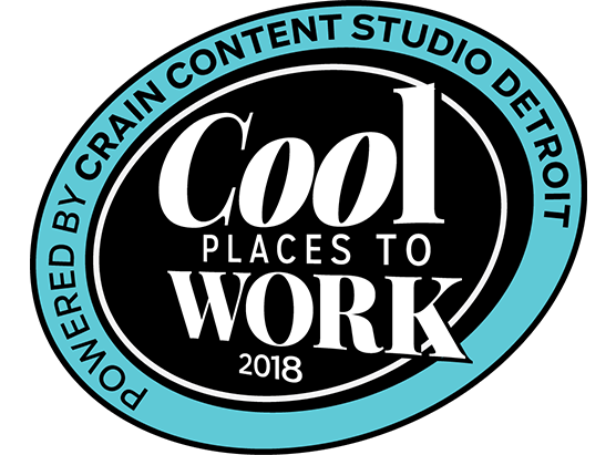Crain's Cool Place to Work 2018 Award