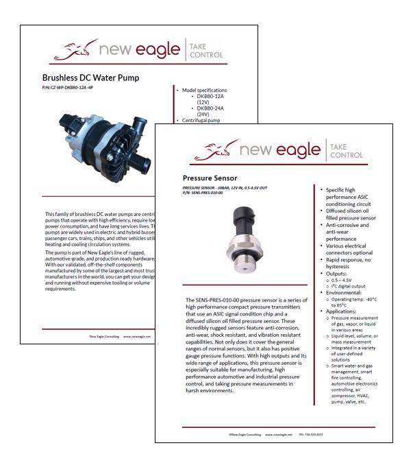 new eagle datasheets