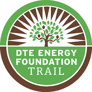 dte energy foundation trail logo