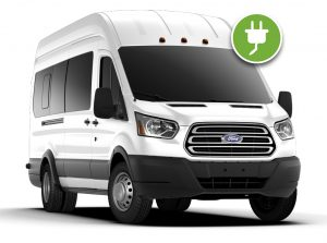electric ford transit van new eagle