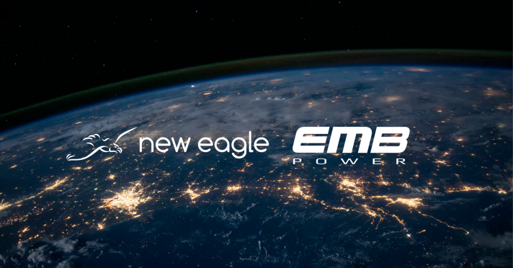 new eagle partners with emb power