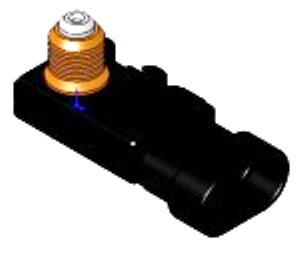 1 BAR MAP PRESSURE SENSOR - DELCO / GM STYLE TUBE OR HOLE MOUNT