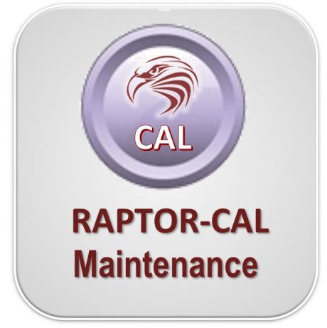 RAPTOR-CAL ANNUAL SOFTWARE MAINTENANCE