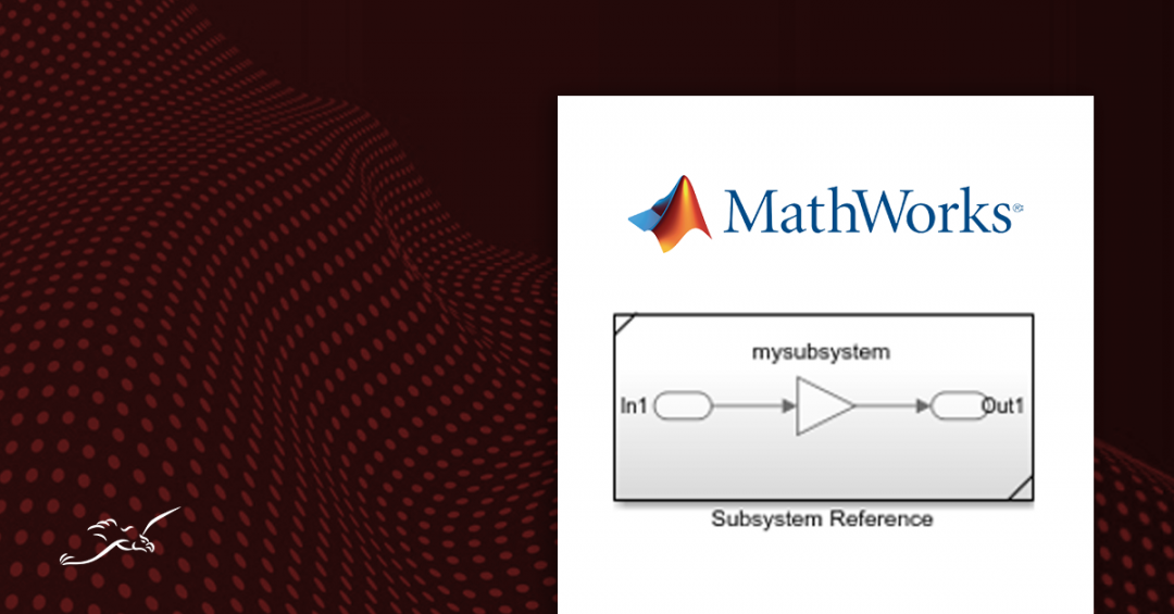 matlab subsystem reference block cover image
